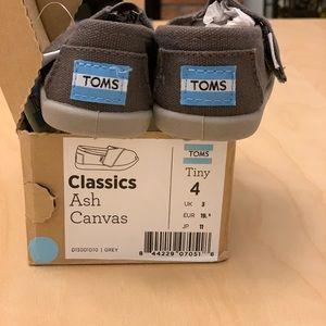Toms Shoes Tiny Ash Canvas Classics